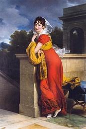 Francois Gérard: Maria Leopoldina Grassalkovich de Gyarak (1806)