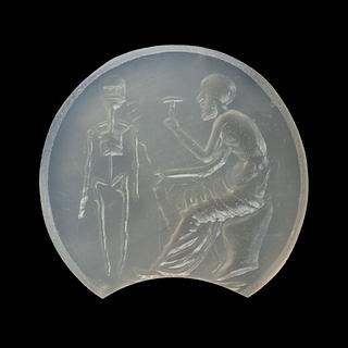 Prometheus skaber den første mand. Hellenistisk-romersk ringsten