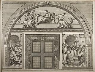 Kardinaldyderne og de teologiske dyder og loven. Pave Gregor 9. Kejser Justinian