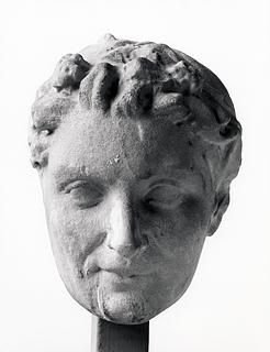Skulptur af en satyr. Romersk