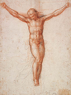 Fra Bartolommeo, The Crucified Christ, The Royal Collection of Graphic Art, Statens Museum for Kunst, Copenhagen