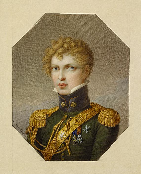 Portræt af Wlodzimierz Potocki
