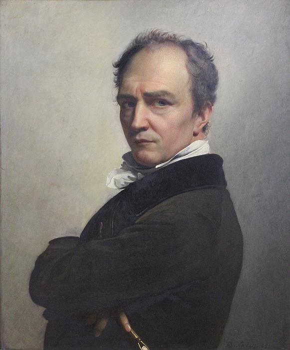 F.J. Navez: Selvportræt, 1826