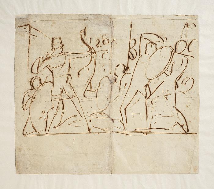 Odysseus i kamp med frierne
