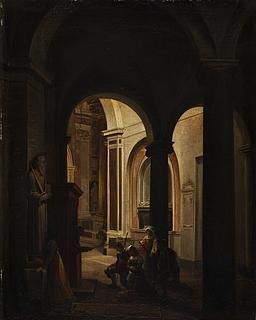 Bodfærdige i en romersk kirke