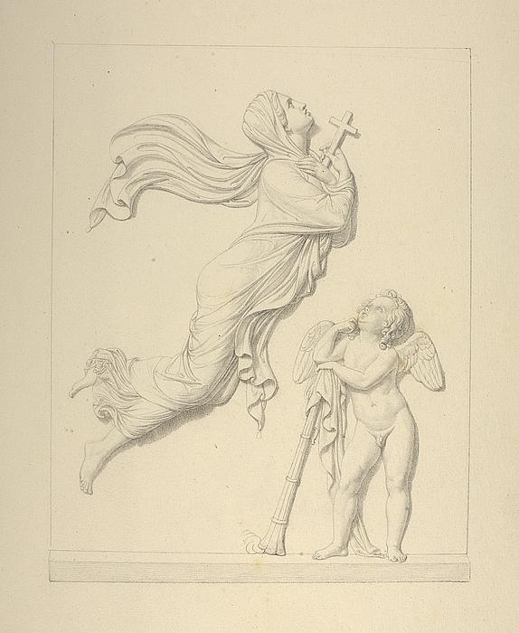 Gravmæle over Stanislaus Chaudoirs hustru