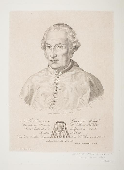 Kardinal Giuseppe Albani