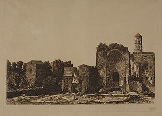 Titusbuen og templet for Venus og Roma
