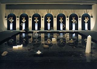 Bjørn Nørgaard: Thorvaldsens portrætbuster / Wasserspiegel, 1976