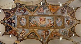 Francesco Albani: Fresker på loftet i loggiaen i Palazzo Verospi, Rom, 1617