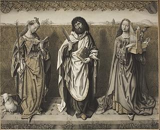 Sankt Agnes, Bartholomæus og Sankt Cecilie