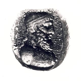 Buste af Zeus. Hellenistisk-romersk paste
