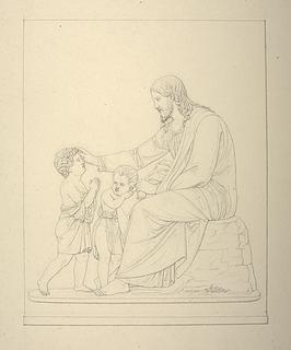 Kristus velsigner børnene