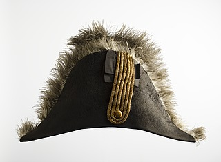 Thorvaldsens hat tilhørende hans uniform for det franske kunstakademi Institut de France