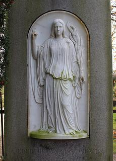 J.A. Jerichau: Gravmæle over P.B. Scavenius, ca. 1868, Holtug kirkegård