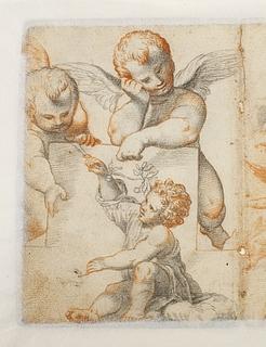 Et barn og to engle