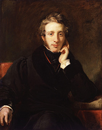 H.W. Pickersgill: Edward Bulwer Lytton (1831)