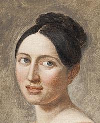 J.L. Lund: Sophie Ørsted (f. Oehlenschläger)