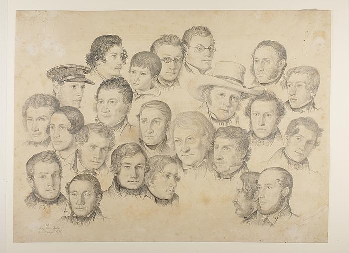 Passagererne på Rota 1838