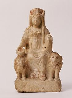Statuette af Kybele/Magna Mater. Romersk