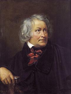Orest Kiprenskij: Thorvaldsen, 1833, olie på lærred, 79,5 x 65 cm, State Russian Museum, St. Petersborg