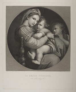 Maria med barnet ( Madonna della Seggiola )