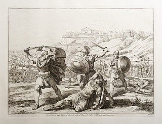 Combattimento degli Orazj, e Curiazj, sotto il Regno di Ostilio (kampen mellem Horatierne og Curatierne)