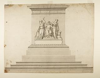 Monument over Christian 6. til Christiansborg Ridebane