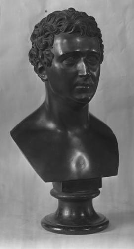 Bronzebuste af Christian (8.) Frederik