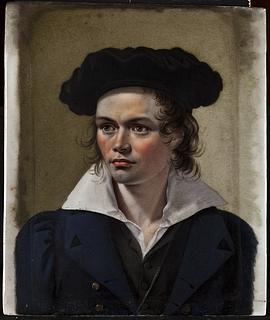 Portræt af billedhuggeren Hermann Ernst Freund