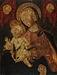Maria med barnet og to keruber