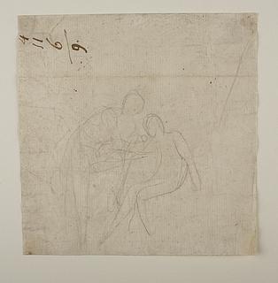 Achilleus forbinder Patroklos sår