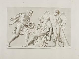 Den døendes broder bringer den østrigske kejsers belønning for ædel dåd