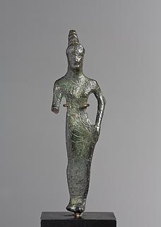 Statuette af en gudinde. Etruskisk