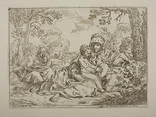Den Hellige Familie og Johannes Døberen