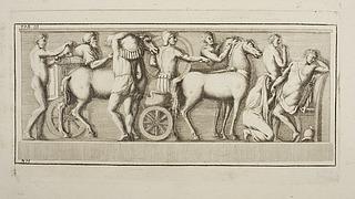 Plyndrende romerske soldater