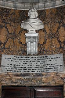 R: Tuccimei: Gravmæle for Virginio Bracci, San Marco Evangelista al Campidoglio, Rom