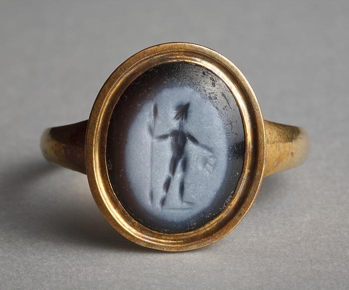Dionysos. Romersk ringsten