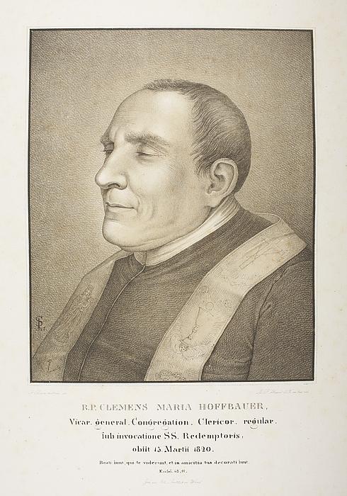 R.P. Clemens Maria Hoffbauer efter hans død