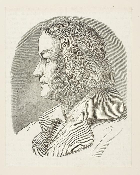 Portræt af Thorvaldsen i arbejdstøj