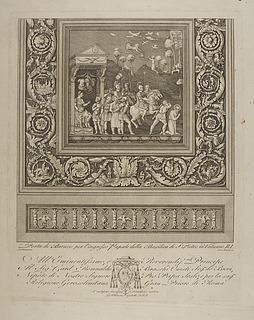 Porta di bronzo per l'ingresso Papale della Basilica di S. Pietro in Vaticano ( Paulus' martyrium )