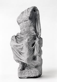 Statuette af en siddende gud. Romersk