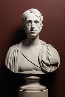 Thorvaldsens buste af Frederik 6. blev udført under Thorvaldsens ophold i Danmark 1819-20.