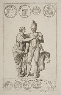 Cajus Marcius Coriolanus og hans hustru
