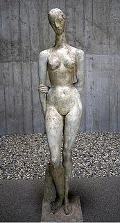 Wilhelm Lehmbruck, Grande songeuse, 1913, Musée d'Orsay
