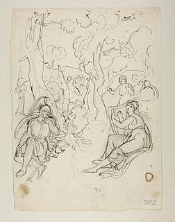 Scene fra Ossians digte