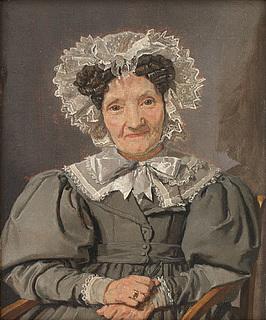Christen Købke. Johanne Pløyen