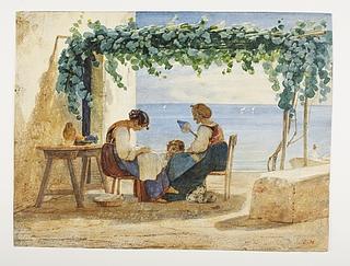 En neapolitansk familiescene