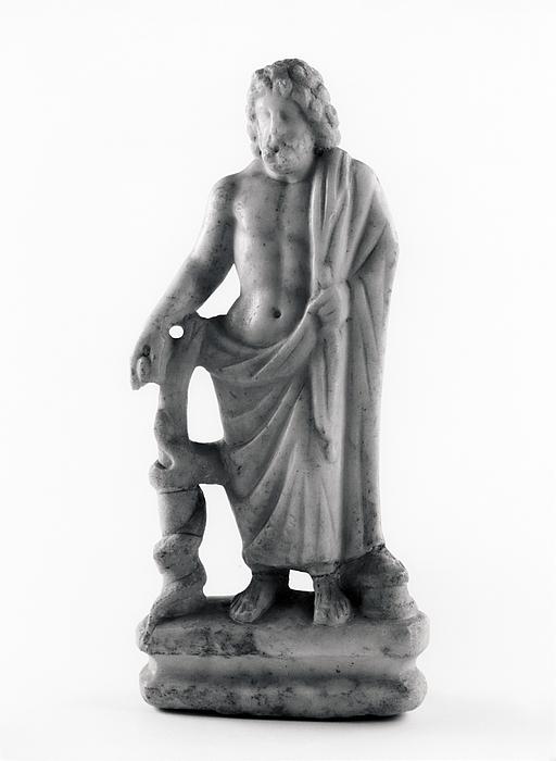 Statuette af Æskulap. Romersk