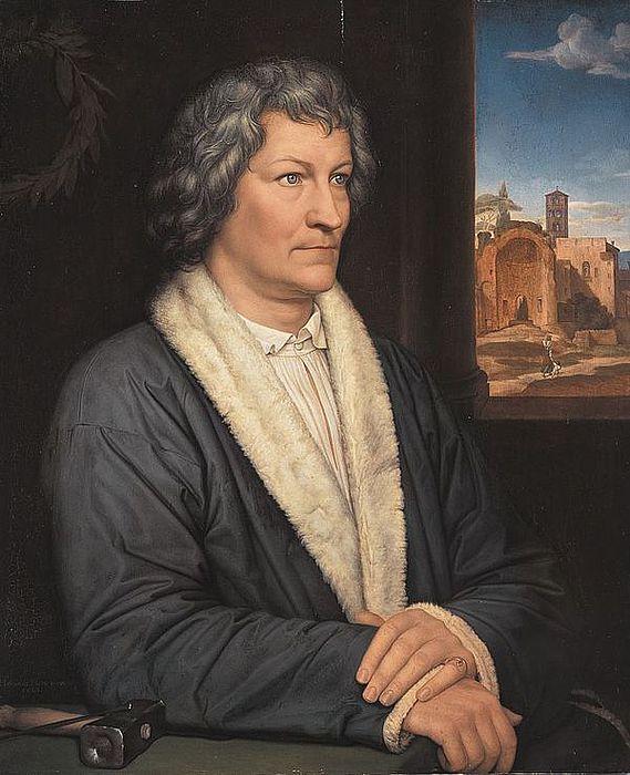 Heinrich Maria von Hess: Bertel Thorvaldsen, 1823